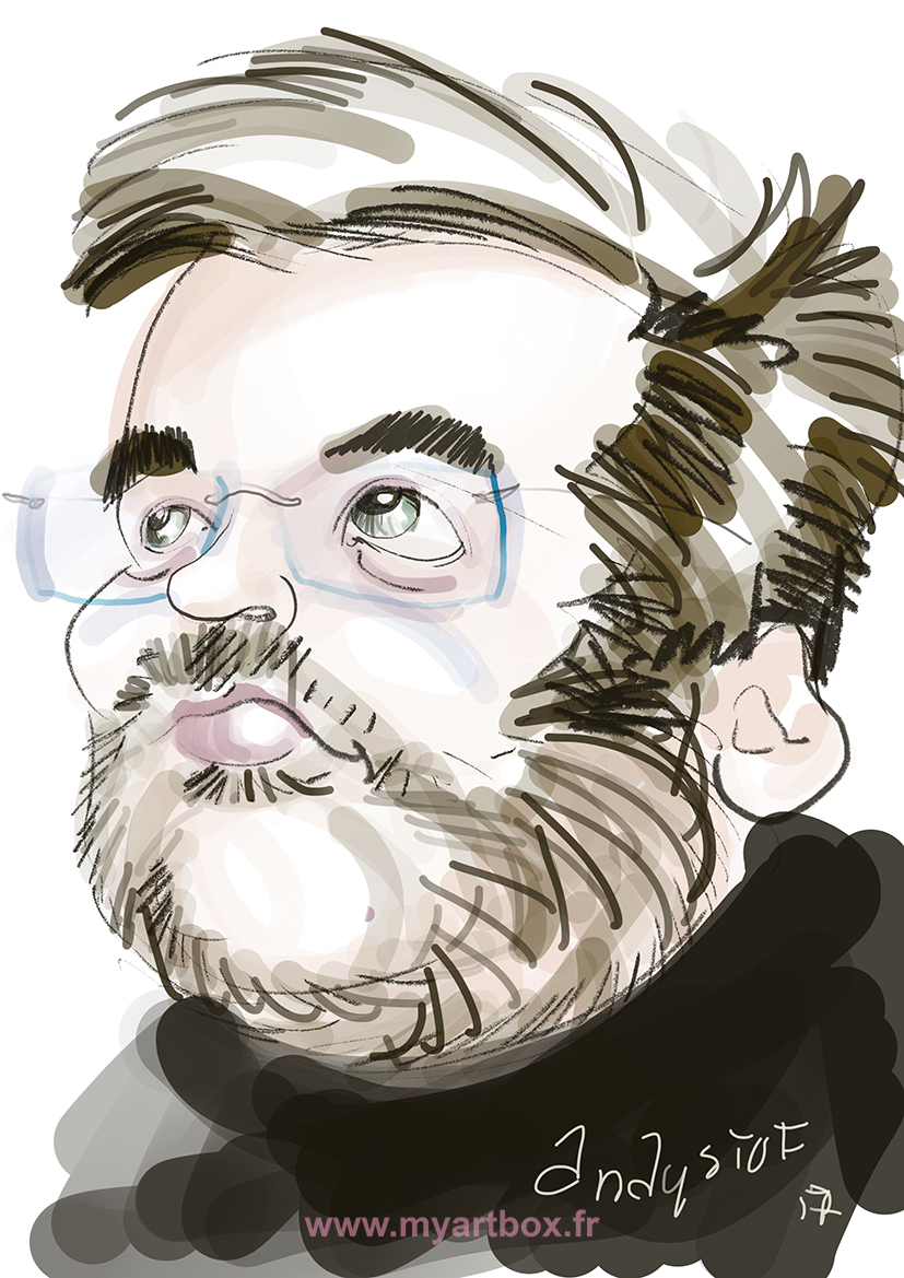 Caricature ipad